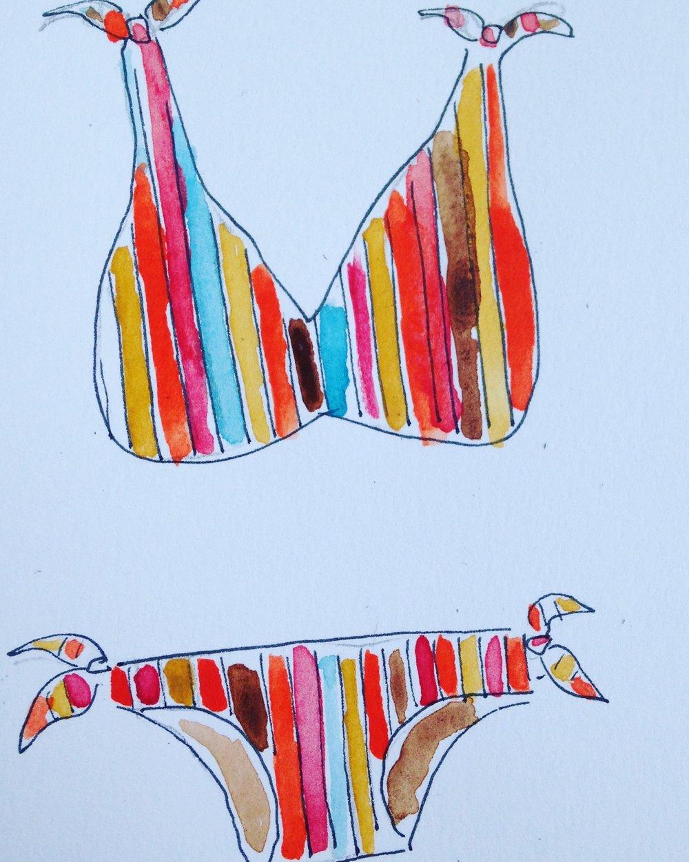 Rye reversible bikini available  here.