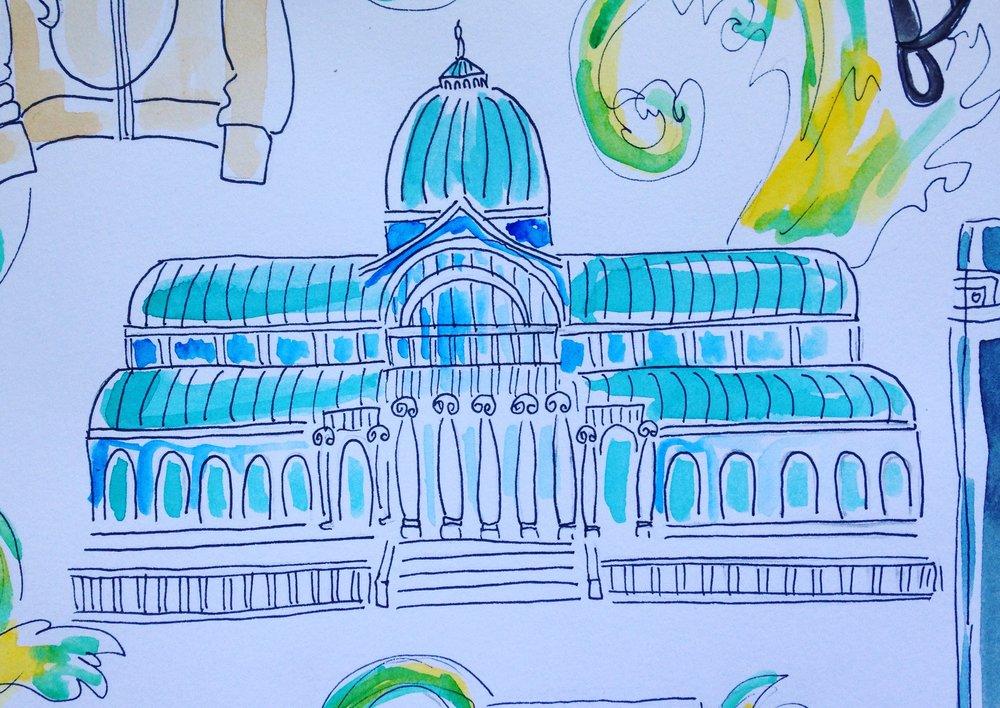 Hernán visits the Palacio Cristal and Museo Prado Madrid for creative inspiration.