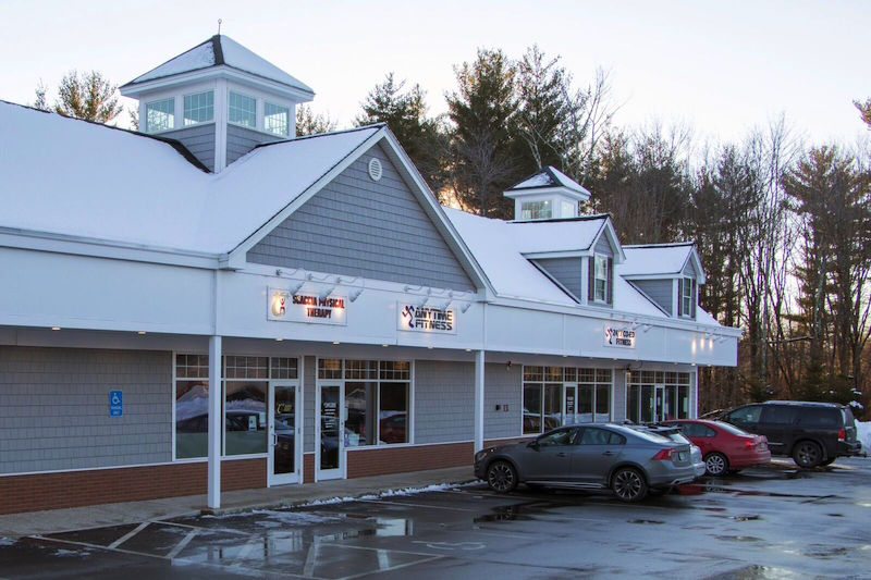 Our Windham, NH location is adjacent to Anytime Fitness giving us access to all state of the art equipment there.