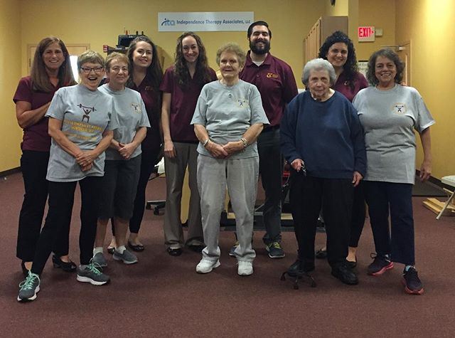 October is National Physical Therapy month.  If you've been a patient here, please accept our sincerest thank you for filling our days with challenges and victories, conversations and laughs, stretching and strengthening. It's a pleasure spending our days helping you achieve your goals.#choosept #scacciapt #dracutpt #anytimefitnesswindham