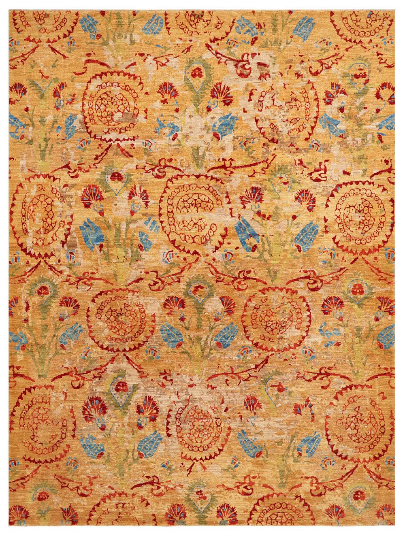 Ottoman, Afghan, 8' x 10'