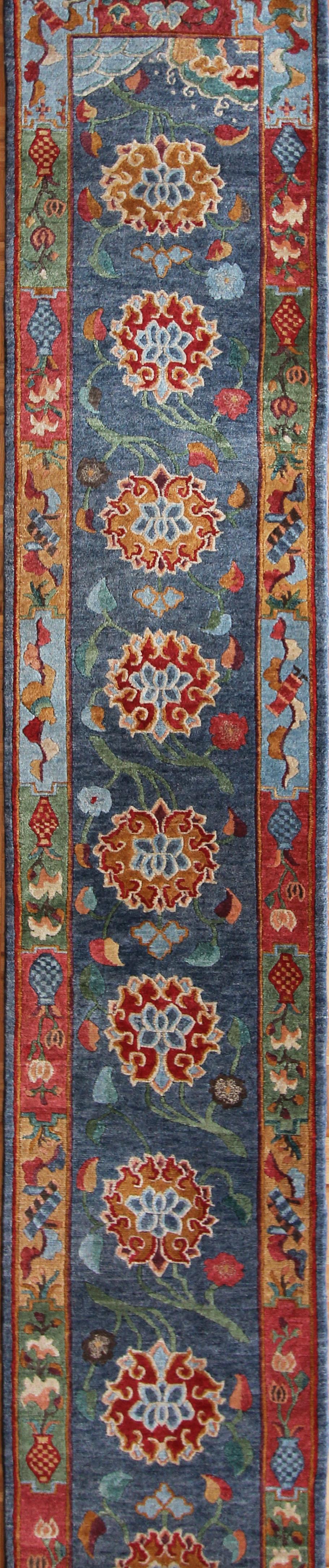 745 Classic Tibetan Floral, Tibet, 20'x2'6''