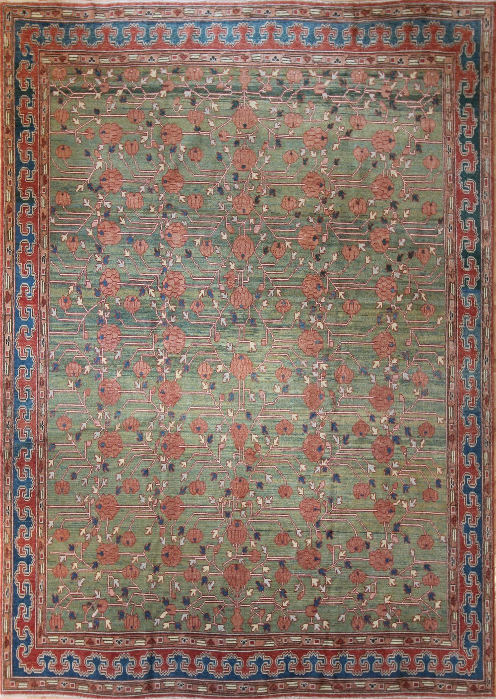 "793 Khotan, Turkey, 7'10""x10'10"""