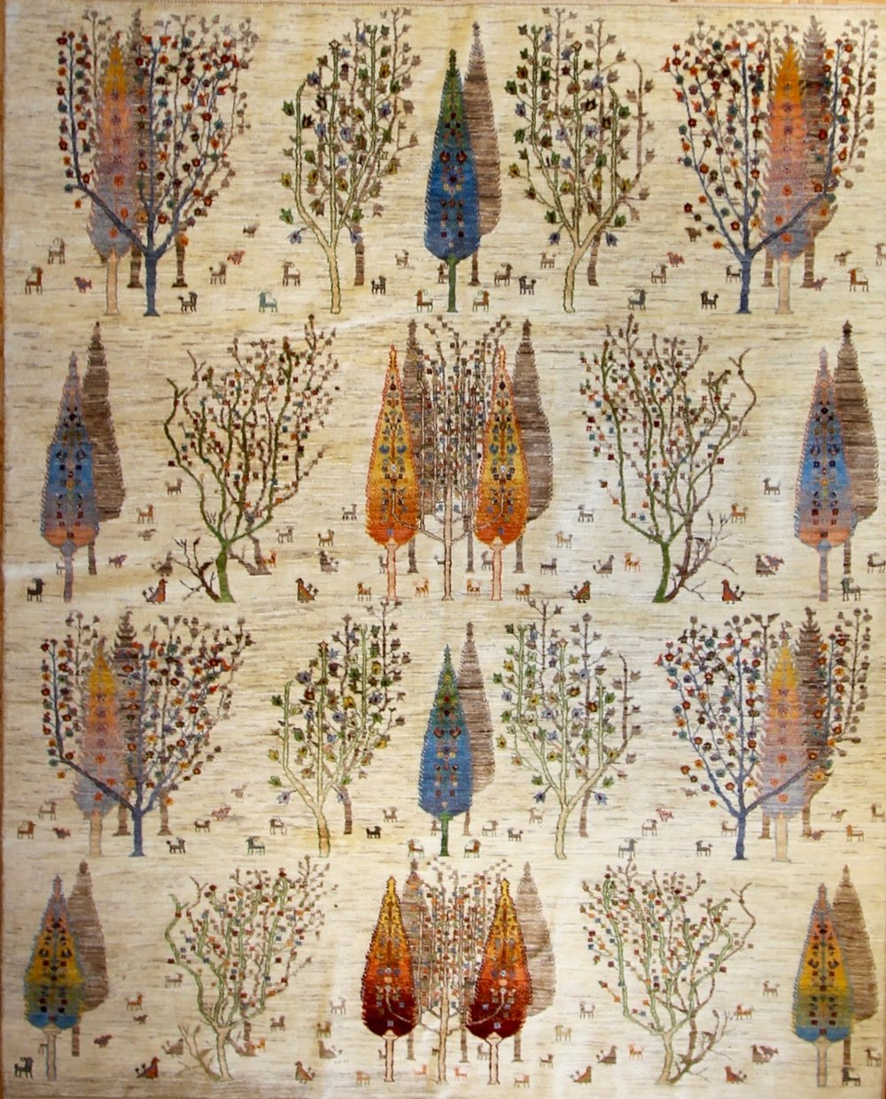 """854 Luri Bakhtiari, Perisa, 8'x9'11"""""""