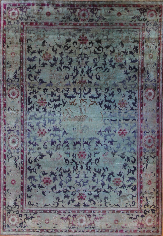 """864 Silk, Jaipur, 7'1""""x10'3"""""""