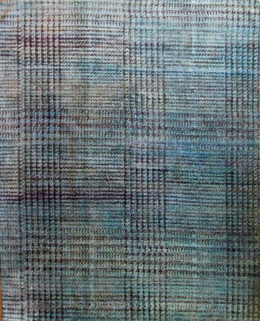 """869 Wool & SIlk Jaipur 7'10"""" x 9'9"""""""