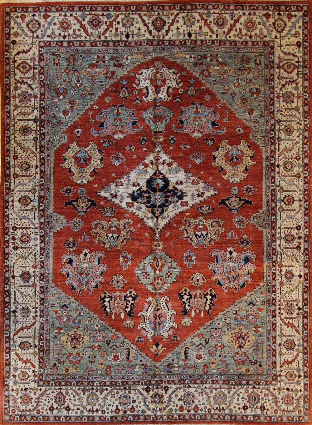 816 Salim Heriz, Afghanistan, 9'x12'
