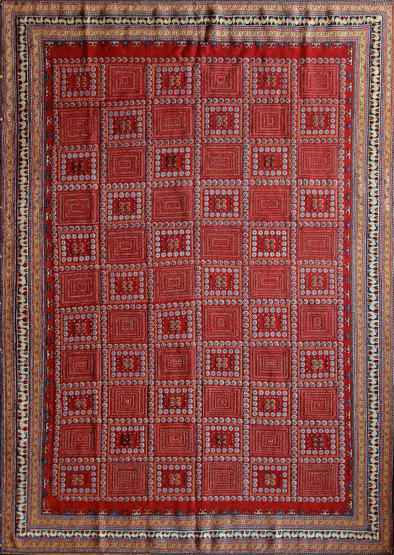 "714 Balouch Soumac, Iran, 7'1"" X 10'"