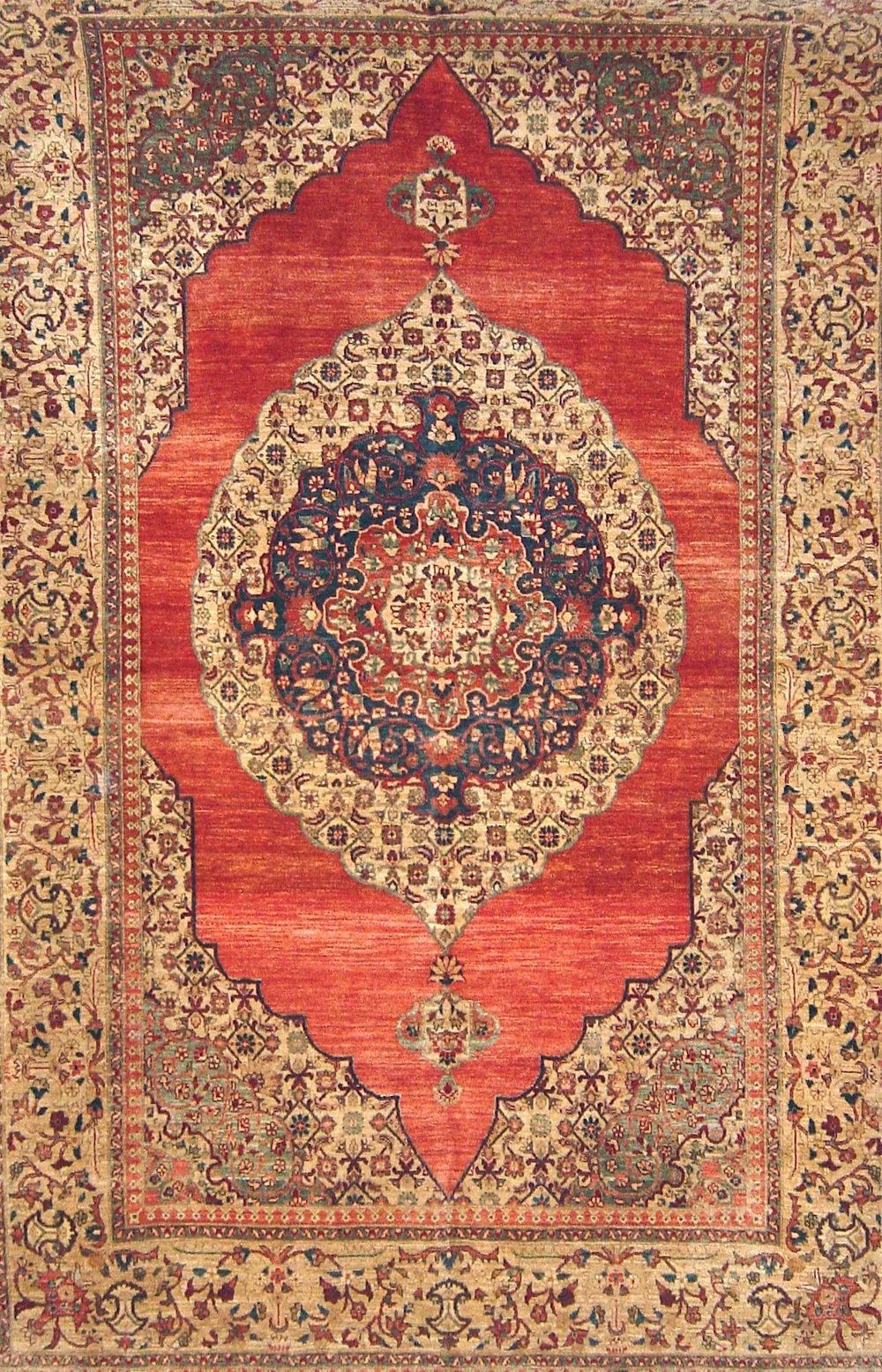 90 Afghanistan, Hazara weavers, 6'3''x9'9''