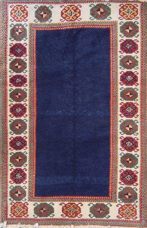 80 Caucasian Talish, Turkey, 1985, Ciba Geigy Dyes, 5'9''x8'10''