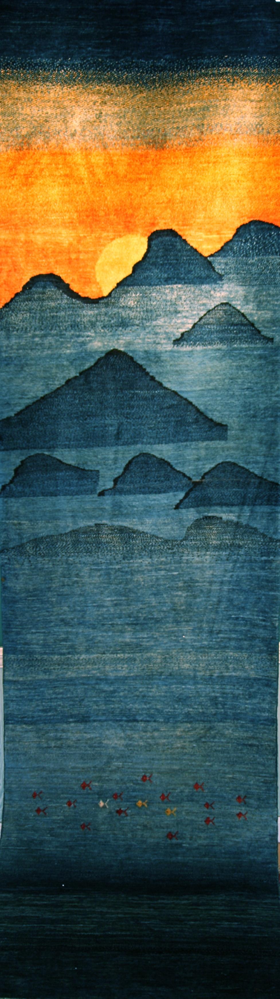 313 Landscape, Persia, 2'8'' x 9'6''