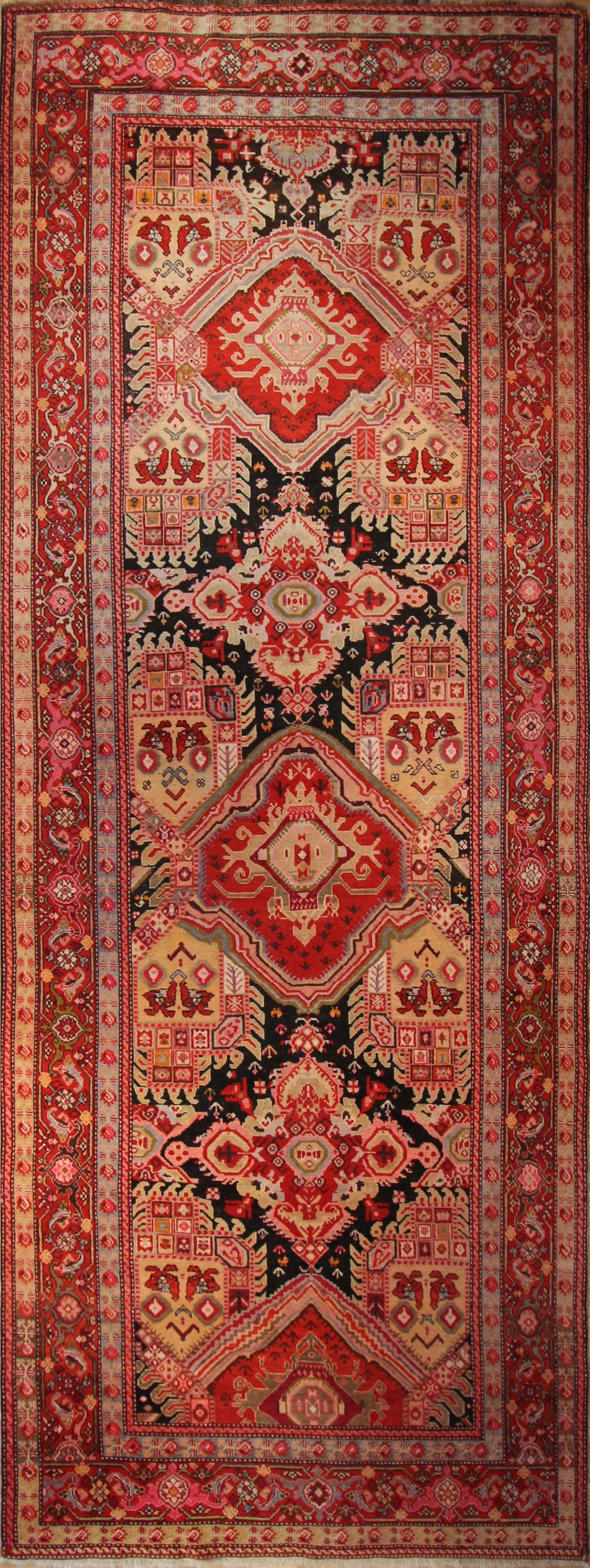 """CC16 Karabagh, circa 1900, 6'5""""x18'"""