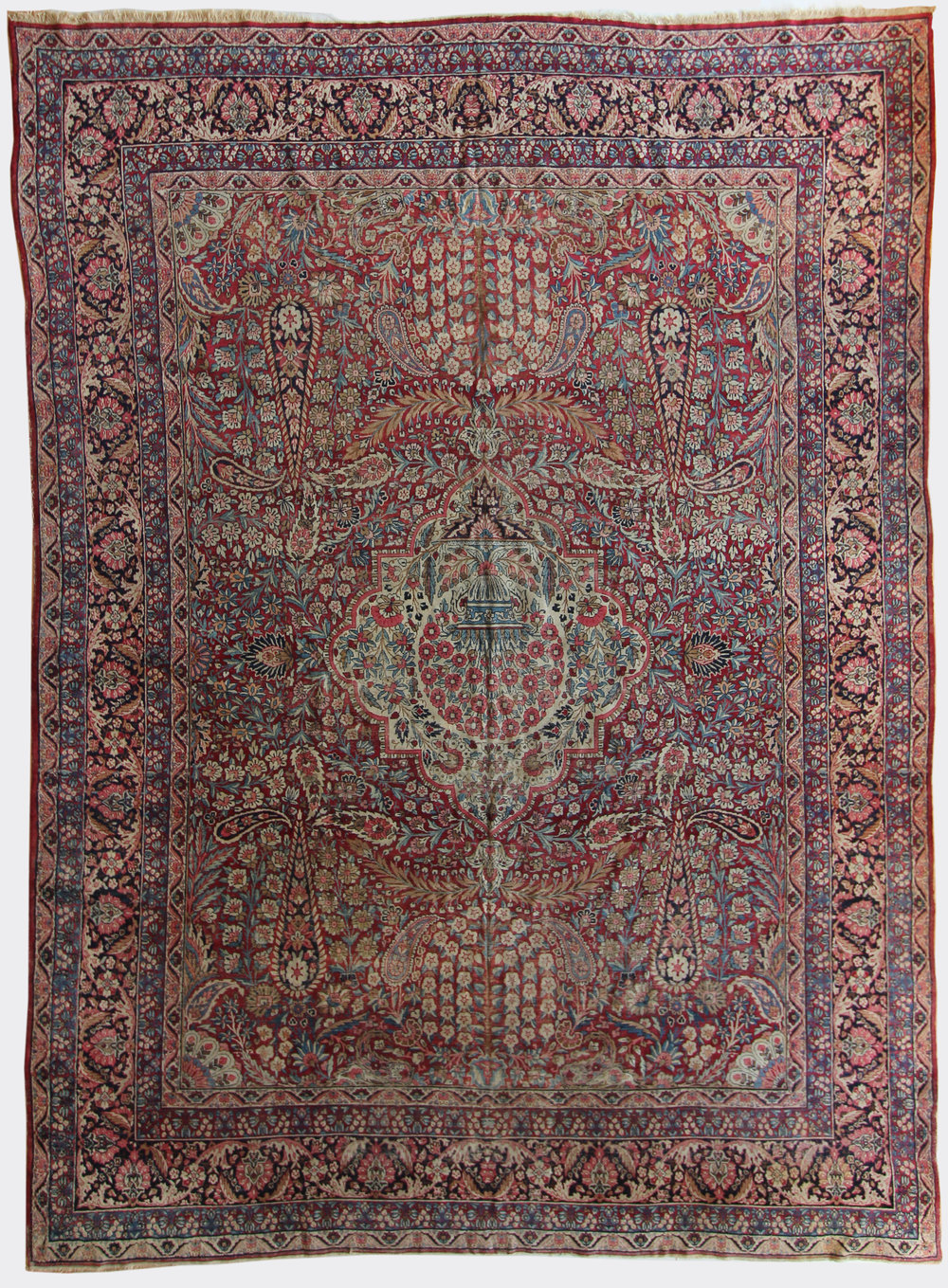 38 Ravar Kerman, Persia, circa 1875, 9'10''x13'5''