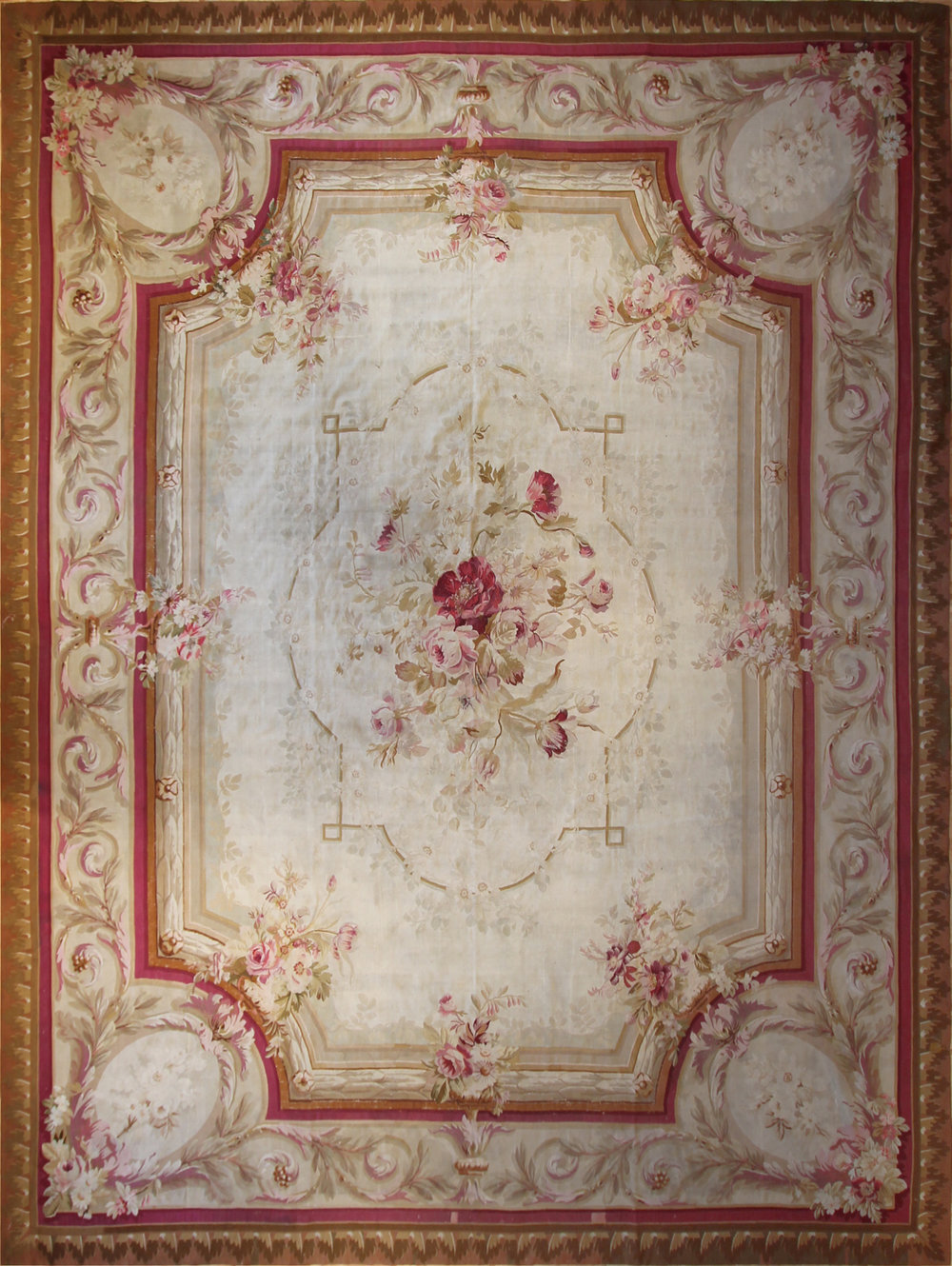539 Aubusson Tapestry, France, circa 1870, 11'x15'
