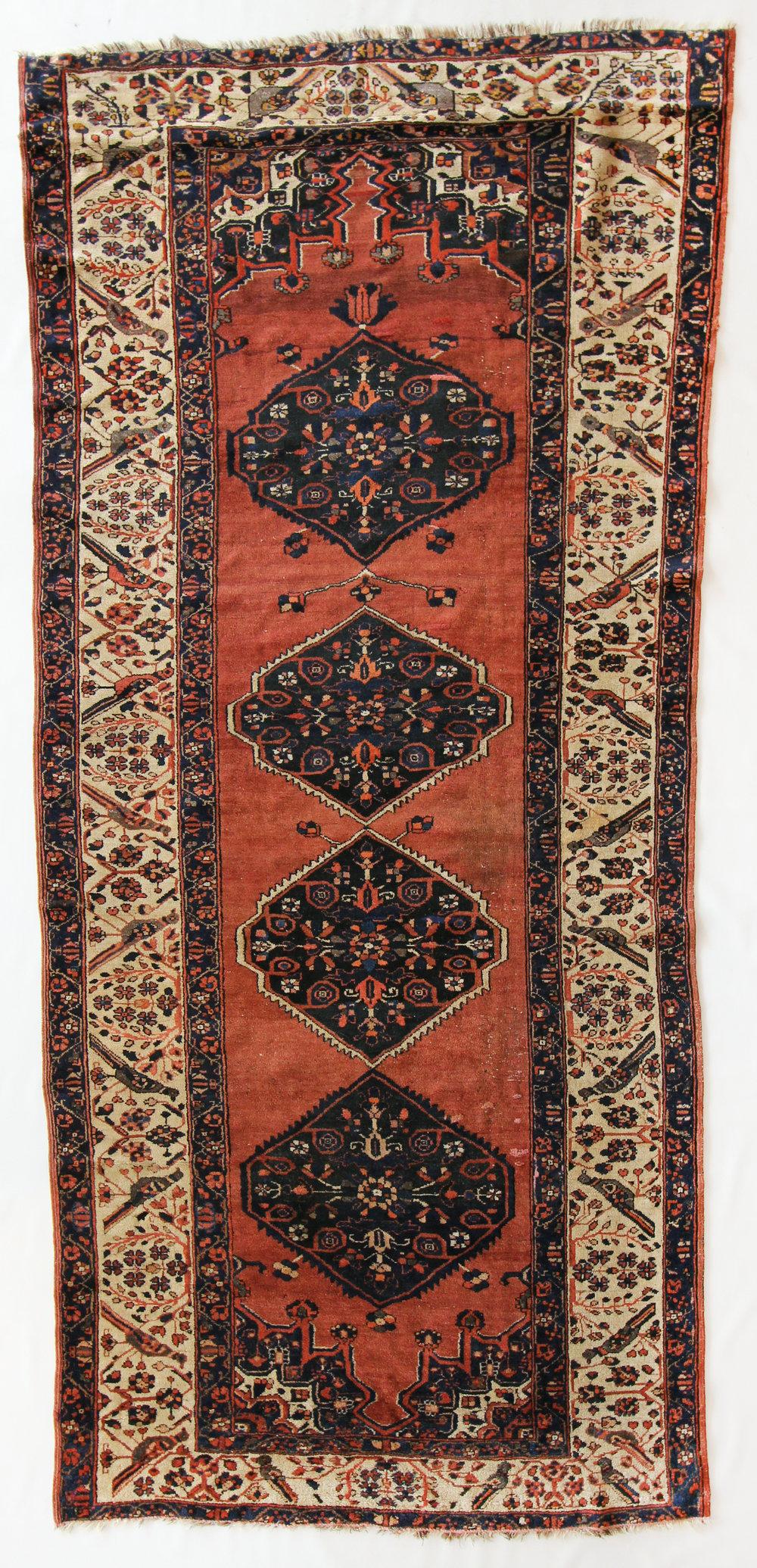 48  Armenian Rug, Boluran, 4'9''x10'8''