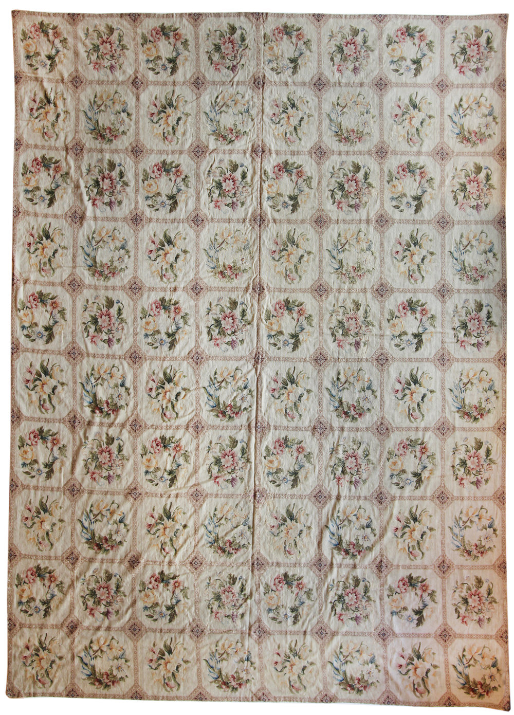 516 English Needlepoint, circa 1880 10'x14'