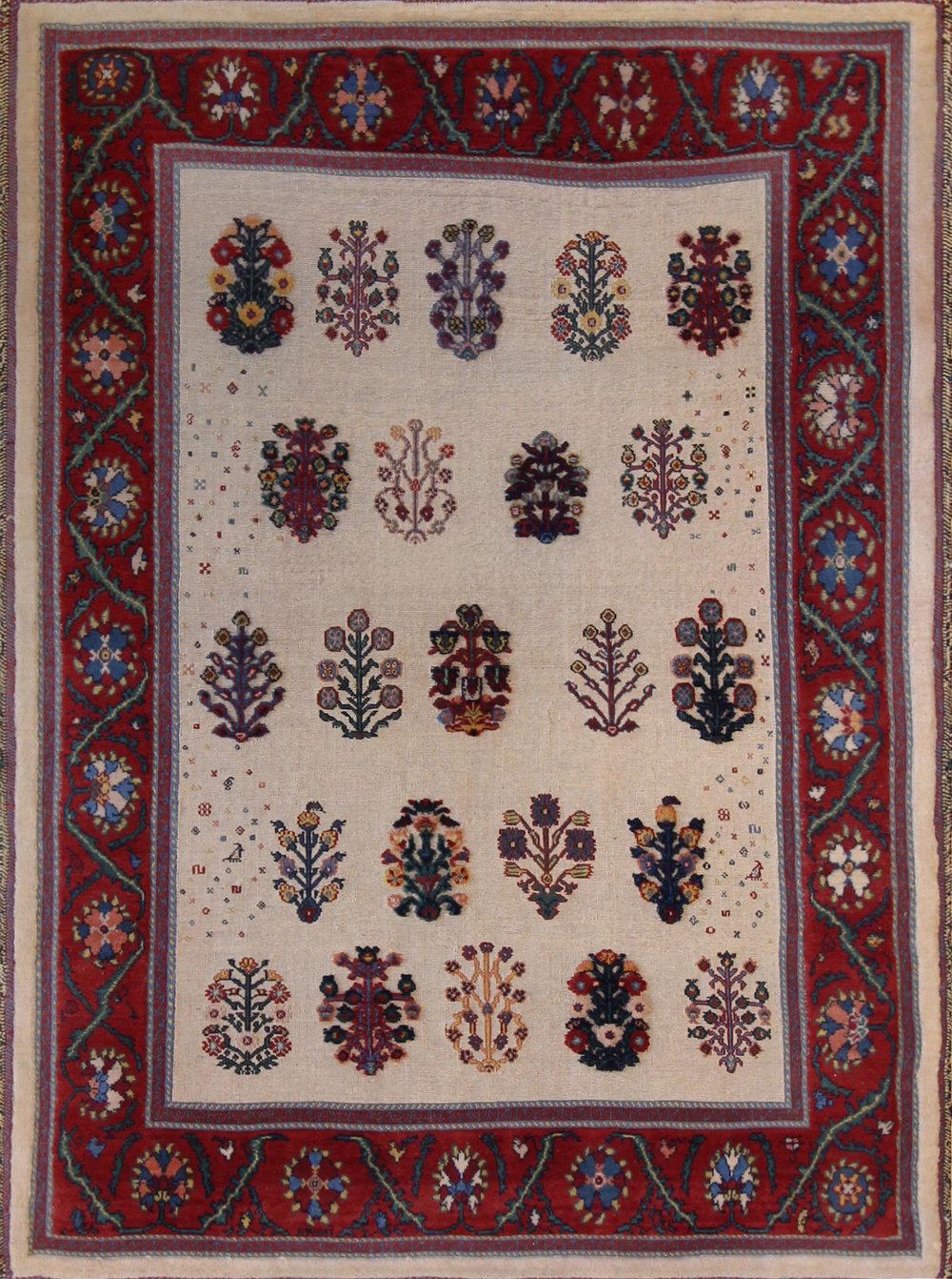 725 Balouch Soumac, Handwoven in Iran, 4'1''x5'6''