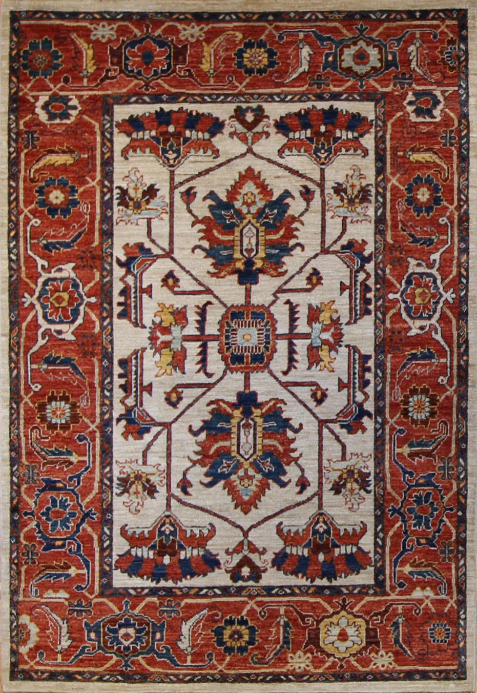 "886 Neman Tribal Afghanistan 4'x5'9"""