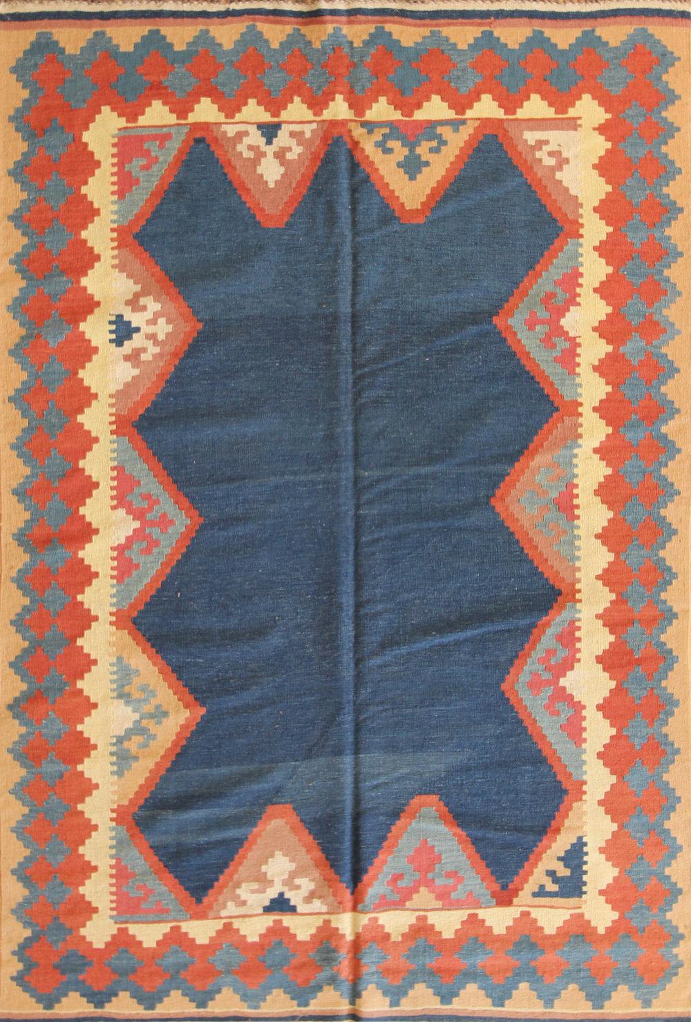 104 Maimona Kilim, Afghanistan, 5'8'' x 8'9''