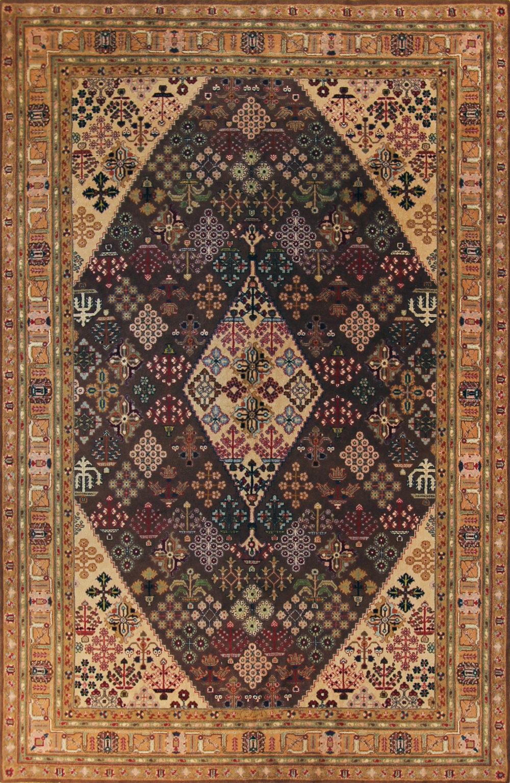 215 Persian Joshegan, circa 1950, 6'x9'3''