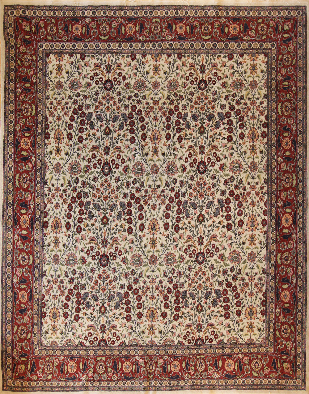 36 Hereke, Turkey, circa 1950, 6'9''x8'9''