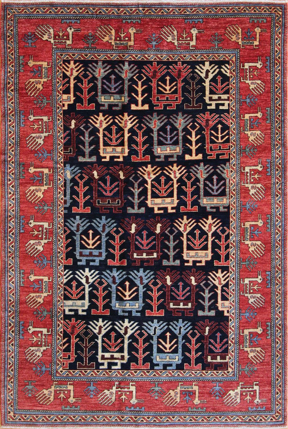 767 Shahsavan Design, Afghanistan, 5'2''x7'8''