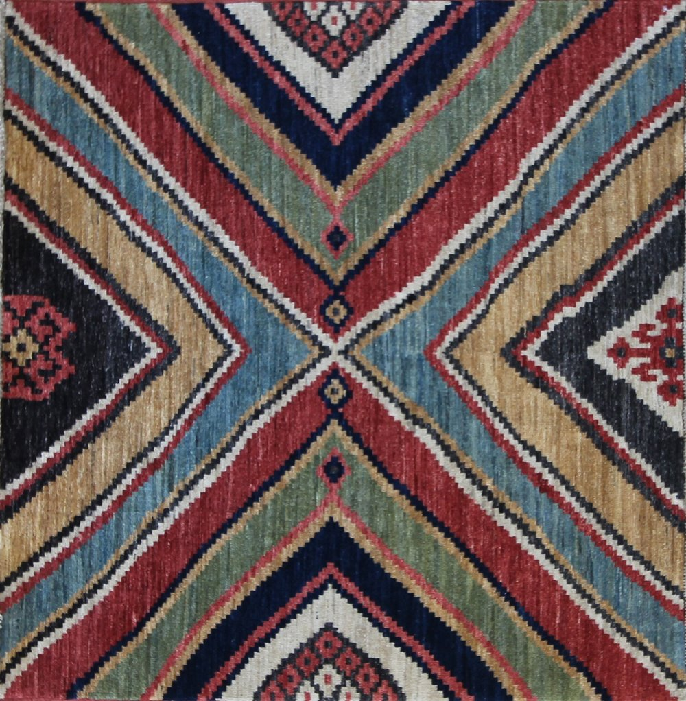 615 Afghanistan, James Opie Collection, 4'1''x3'10''