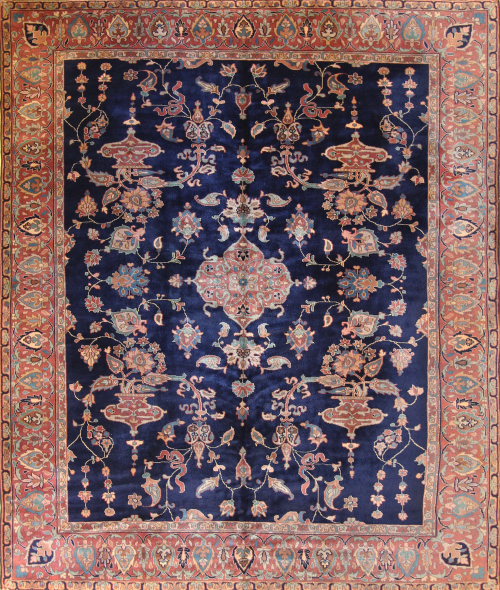 40 Antique Pergam, Turkey, circa 1895, 8'x10'