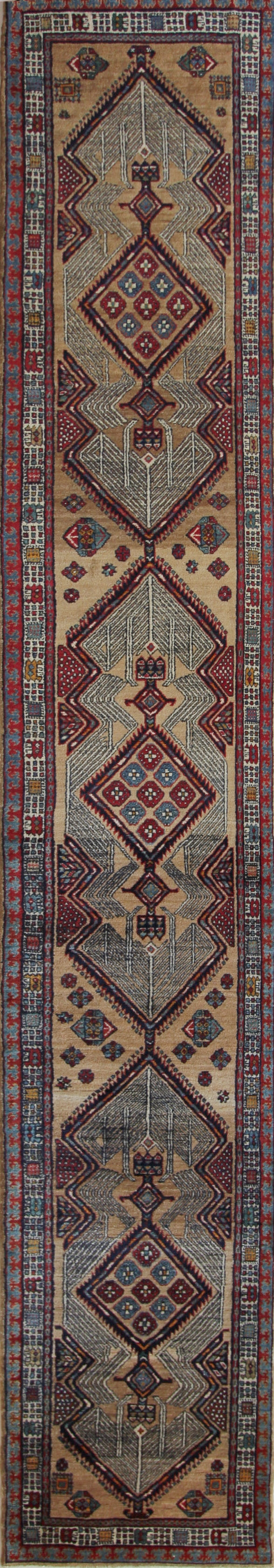 811 Antique Serab 3'x17'