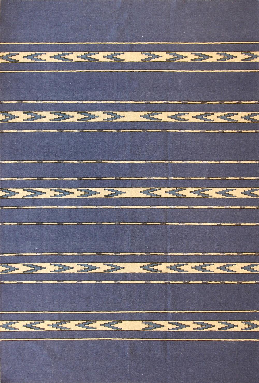 917 Flat Weave, India 6'x9'