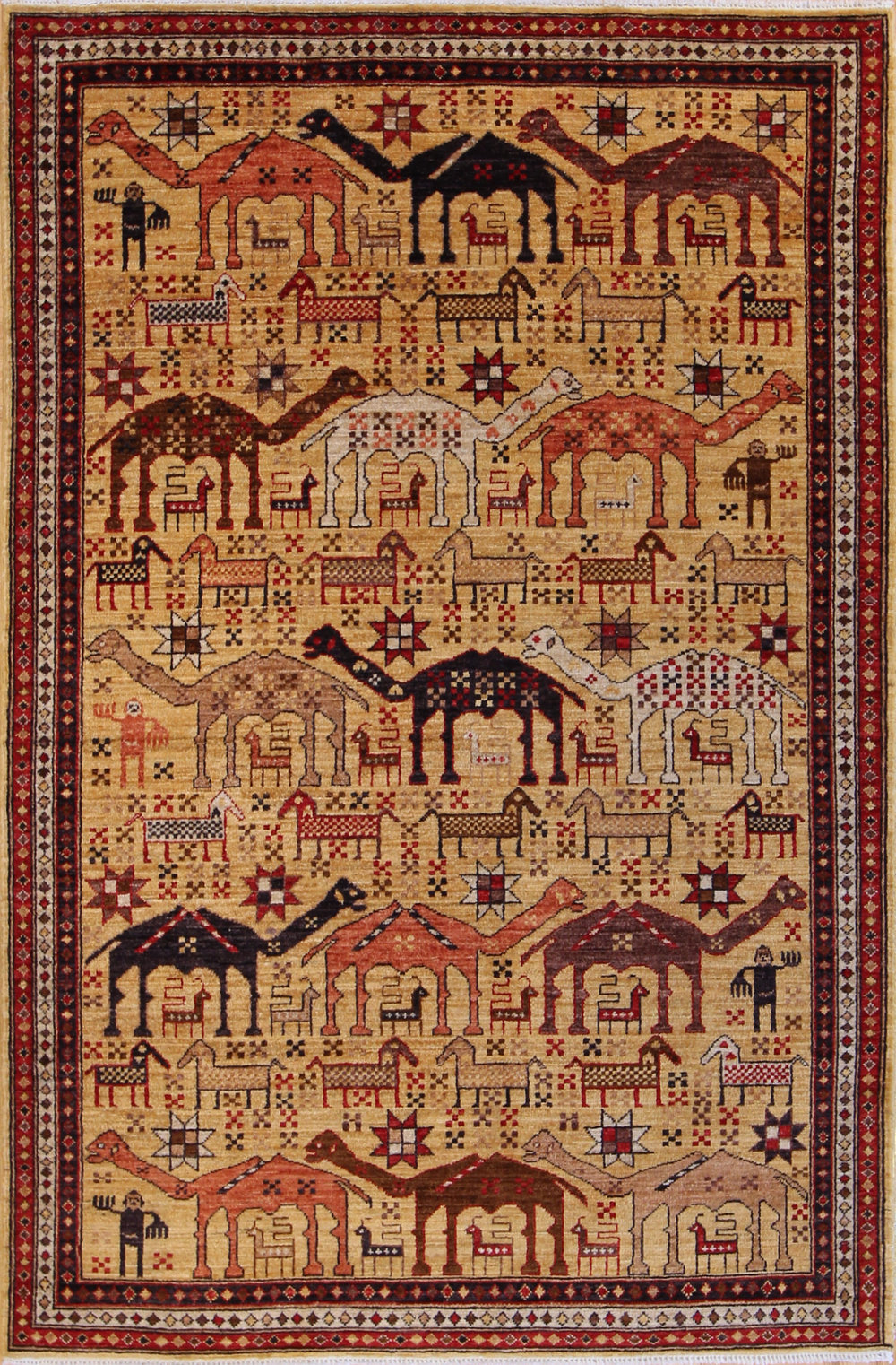 924 Tribal, Afghanistan 4'x6'