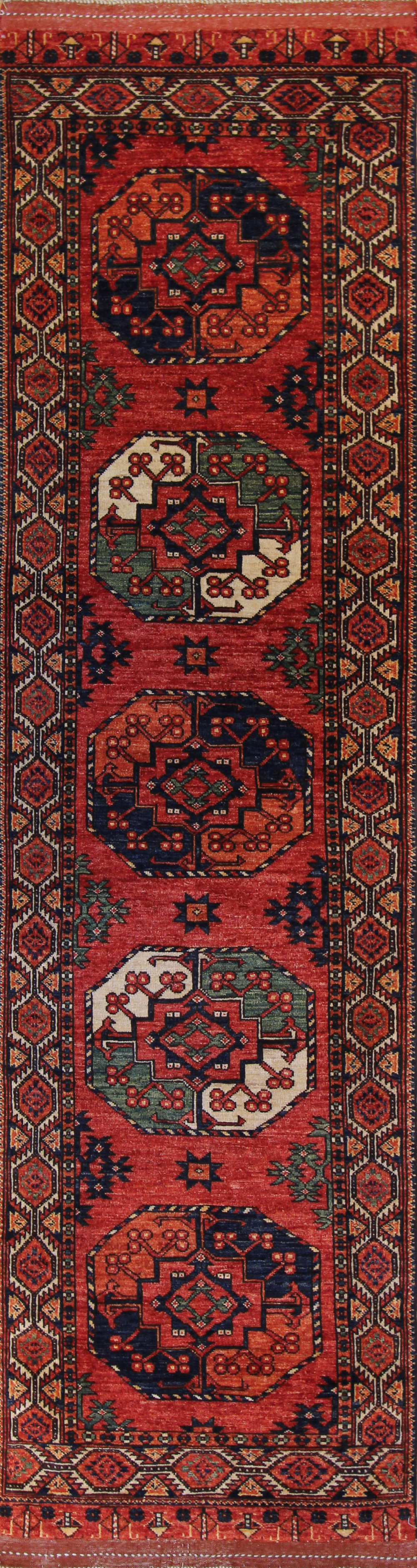 "928 Turkoman, Afghanistan 2'9""x10'1"""
