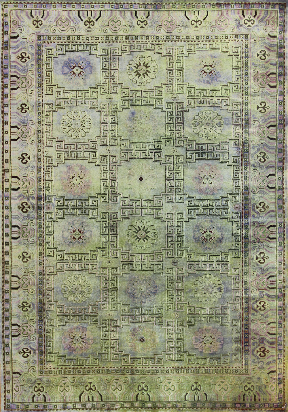 950 Silk oxidized wool Jaipur 6'x8'9""