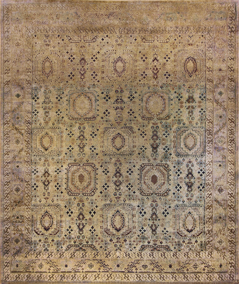 "949 Silk oxidized wool Jaipur 7'11""x9'7"""