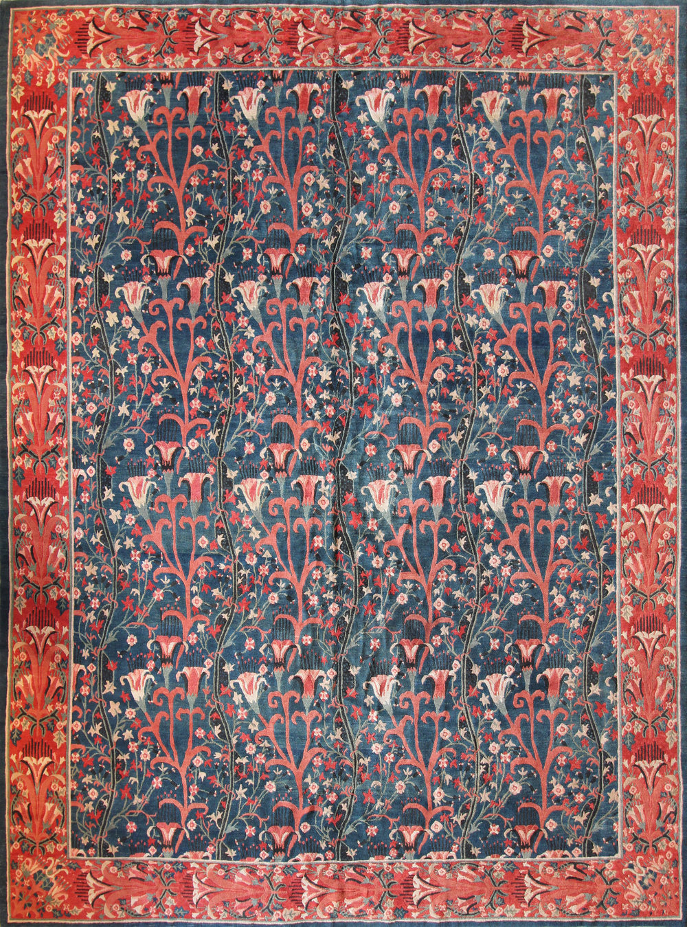 95 Arts and Crafts, Nepal, Tibetan Wool, 10'1''x13'6''