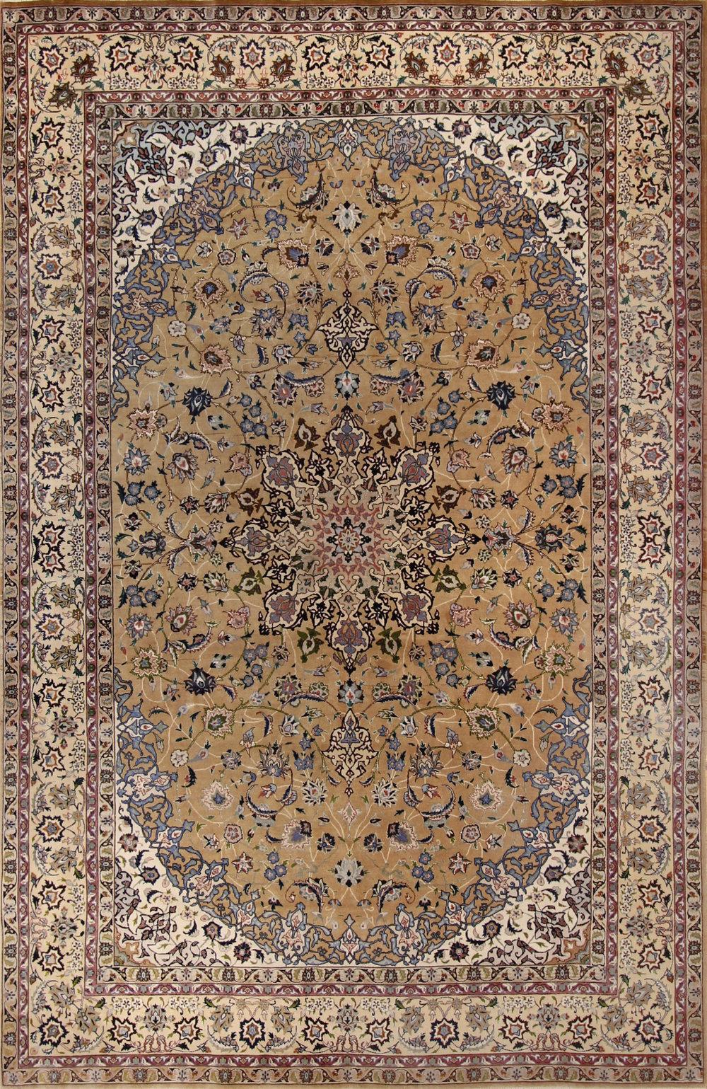 """953 Tabriz Persian 6'6""""x10'"""