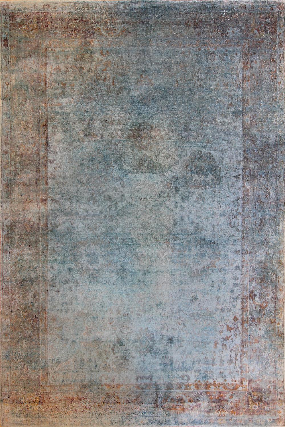 """CC19 Kundan Silk Jaipur 9'9""""x14'8"""""""