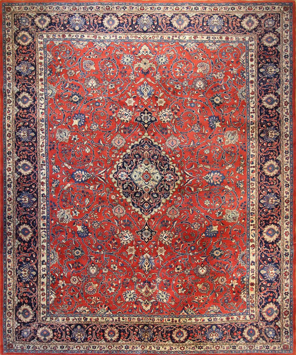 "CC21 Kashan Persia 9'9""x11'11"""