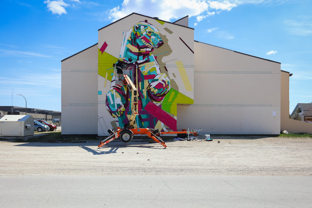 Mural by Arlin Photo by Tre' Packard