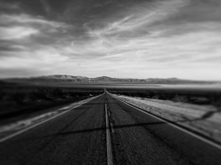 Sometimes it seems like the road goes on forever...