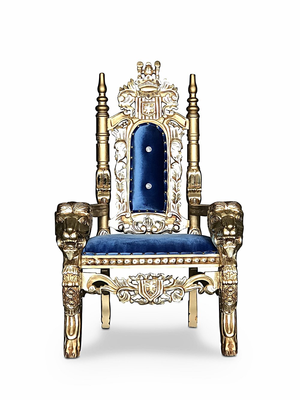 Chiseled Perfections | Kids Raja Throne Chair Chiseled Perfections