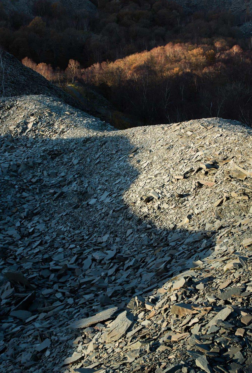 Hodge Close quarry shadow