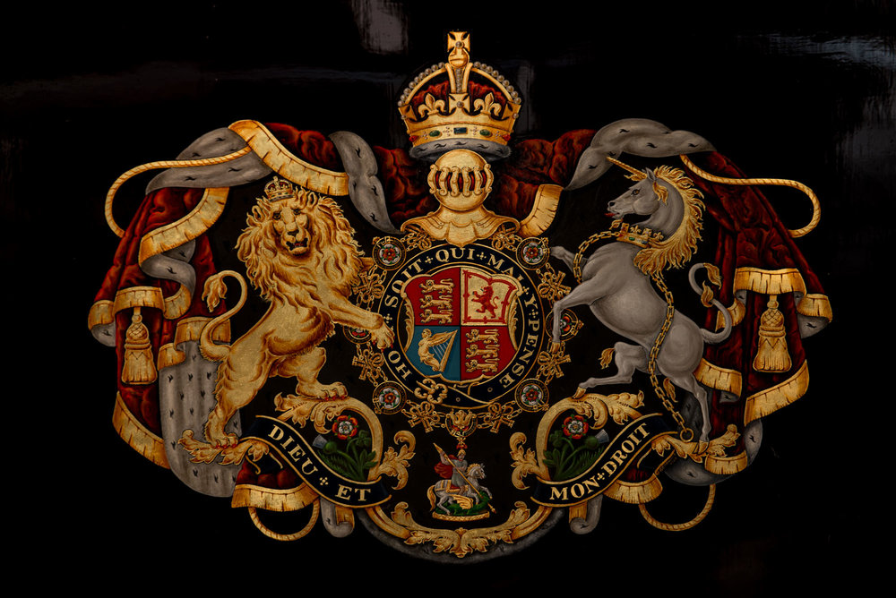 details from the Royal Mews, Victoria, London