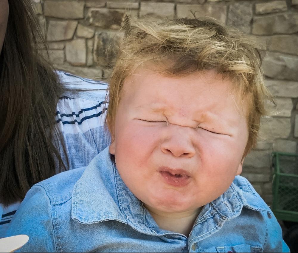 THE DASHLEYS :  EPISODE- BABY EATS SOUR SHAKE