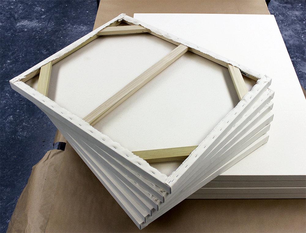 Canvas & Frame — White Pigeon Studio