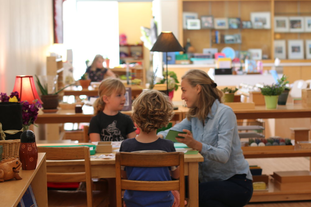 Language - Mission Montessori's language program is designed to develop a student's lifelong love of reading and writing.GrammarWord StudyHandwritingVocabularyKinesthetic LearningTwo ways in which Montessori's approach to language skills is unique are its incorporation of holistic, kinesthetic learning techniques, and its emphasis on practical, real-world applications.