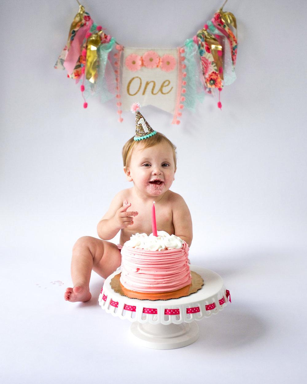 Johns Creek Cake Smash Photographer
