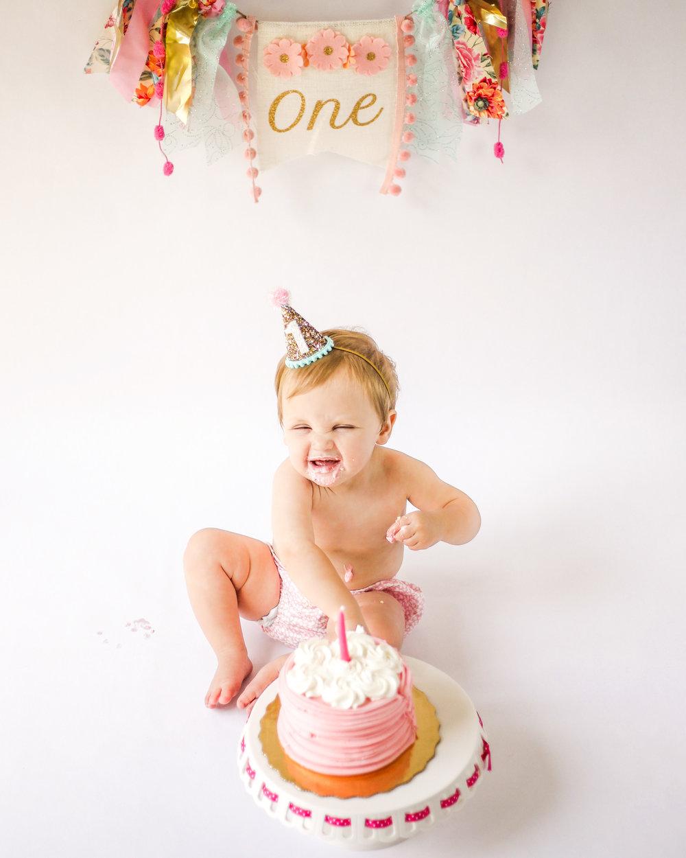 Atlanta Cake Smash Photographer