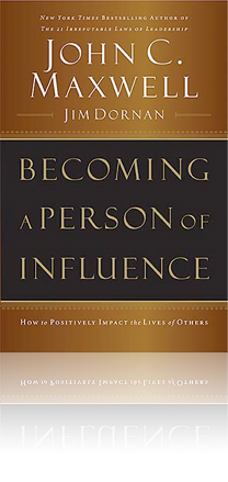 Learn how to positively impact the lives of others and watch your personal and organizational success begin to grow.   Everyone influences others. You don't have to be in a highprofile occupation to be an influencer; whenever your life connects with another person, you exert influence. Everything you do – at home, at work, or at play – has an impact on the lives around you. No matter what your goals are in life, you can achieve them faster, you can be more effective and the contribution you make can be longer lasting if you learn to develop your influence.   Practical and easy principles to apply to everyday life:   >Managers will see their employees respond with new enthusiasm >Parents will connect with their children on a deeper level >Coaches will see players blossom >Pastors will reach more people >Salespeople will break records     Whatever your vocation or aspiration, you can increase your impact on others by Becoming A Person of Influence.