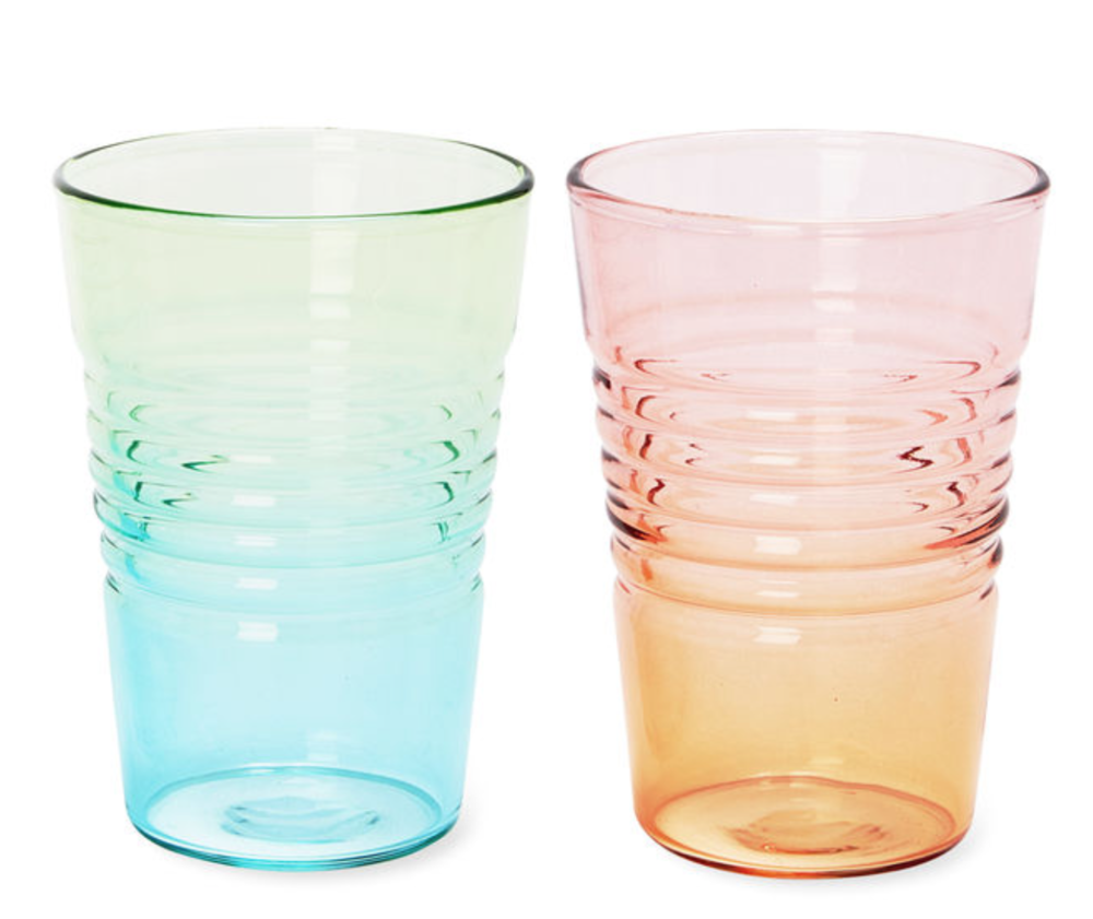 Ombré Juice Glass available at MoMa store